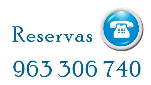 Reservar 963 306 740